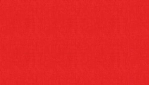 Makower Linen Texture Red